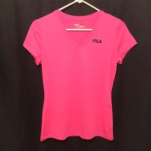 FILA Short Sleeve Dri-Fit Shirt